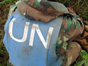 MONUC, the UN peacekeeping force, has been in the DRC since 2000.